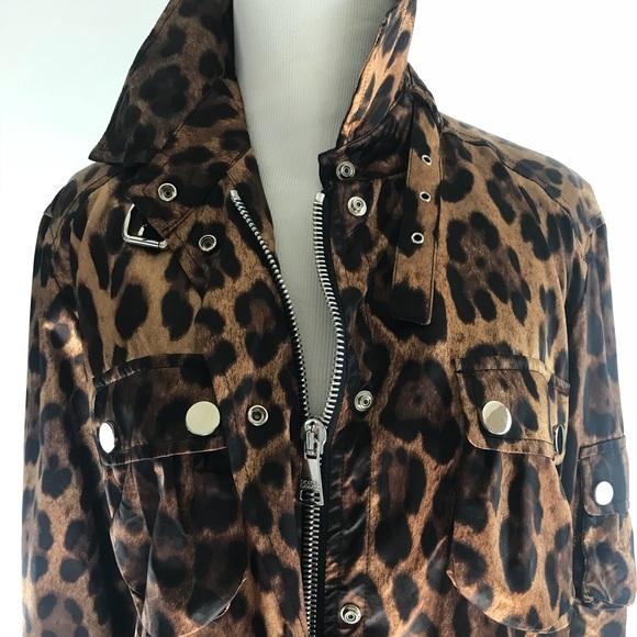 1e60912978aa Dolce & Gabbana Jackets & Coats | Dolce And Gabbana Leopard Jacket ...